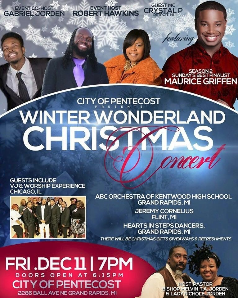 Winter Wonderland Christmas Concert Grand Rapids Michigan Local Church Plat Form 20