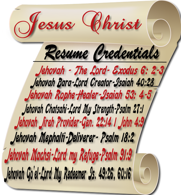 Did You Know That Jesus Has A Resume? - Grand Rapids, Michigan Local ...